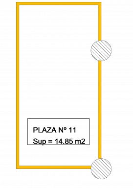 Parking en venta en Nevada, Granada, Carretera Laroles A Picena, 6.000 €, 33 m2