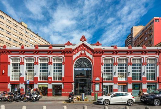 Oficina en venta en Gijón, Asturias, Plaza Agosto, 420.000 €, 685 m2