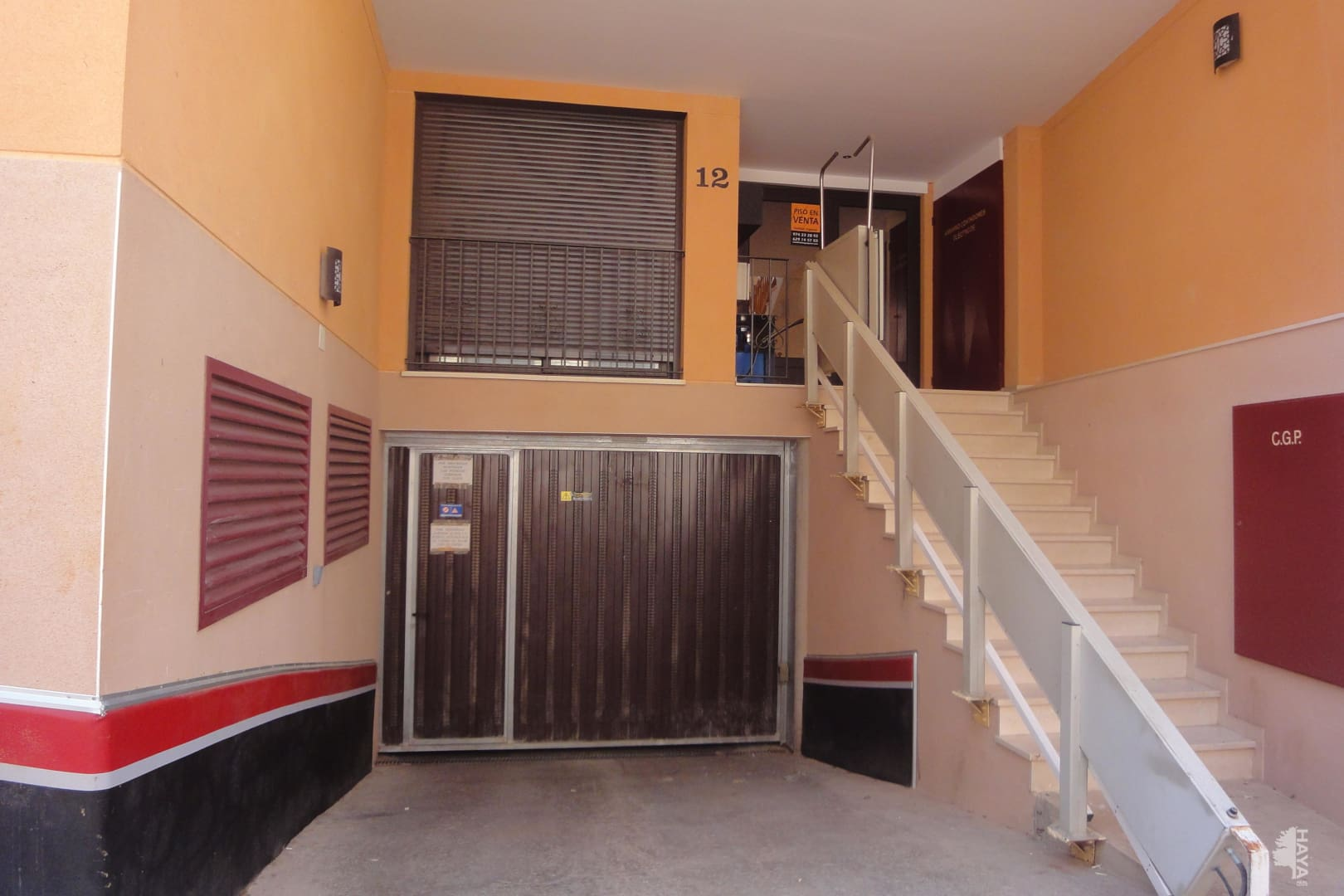 Parking en venta en Ayerbe, Huesca, Calle Santa Maria del Soterrano, 2.000 €, 13 m2